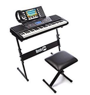 RockJam 61-Key Electronic Keyboard Review