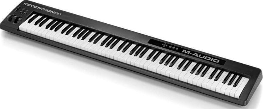 M-Audio keystation 88 II review