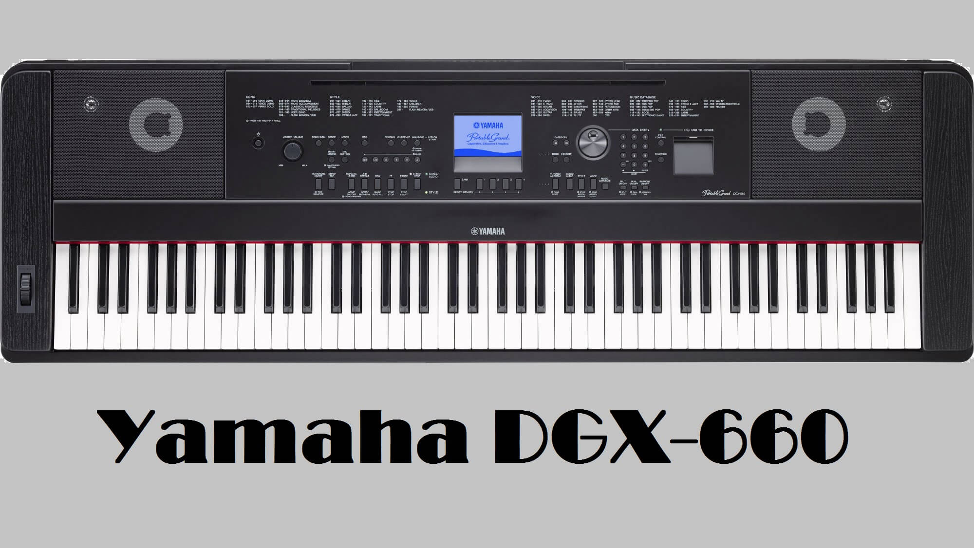 yamaha dgx 660 digital piano review 2018 digital piano reviews 2018. Black Bedroom Furniture Sets. Home Design Ideas