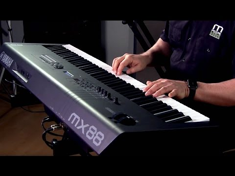 Yamaha MX88 Review 2018- Pro's & Con's- Digital Piano